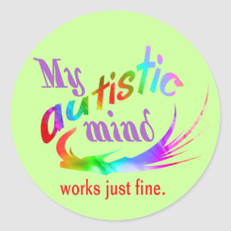 My Autistic Mind Stickers