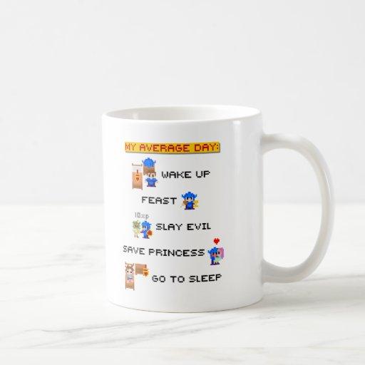 My Average Day (8-bit RPG) Mug