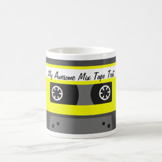 My Awesome Mix Tape mug - with custom text