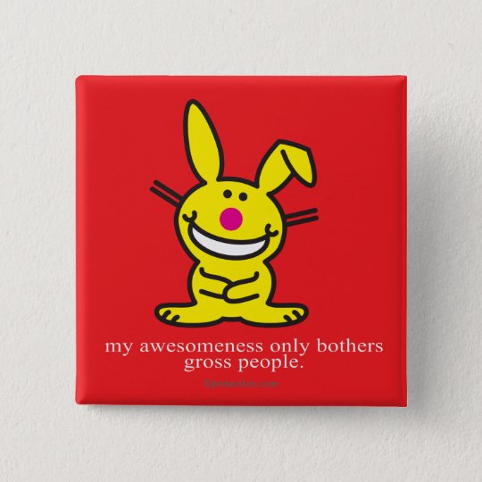 My Awesomeness 15 Cm Square Badge