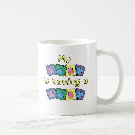 My Baby Is Having A Baby Mugs
