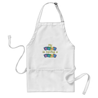 My Baby Is Having A Baby Standard Apron
