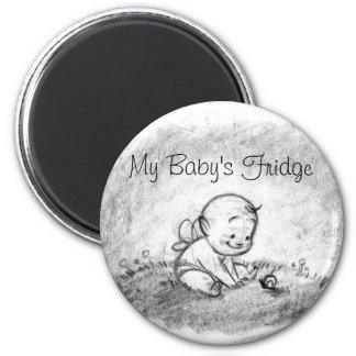 My Baby's Fridge Magnet