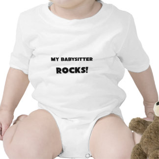 MY Babysitter ROCKS! Tee Shirt