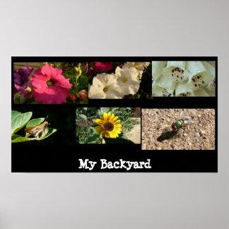 My Backyard Print