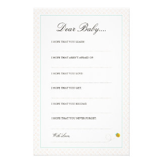 My Balloon   Dear Baby Cards Stationery Design