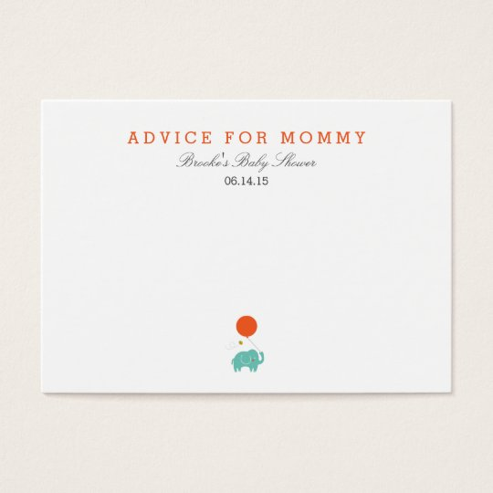 My Balloon | Mummy Advice Cards