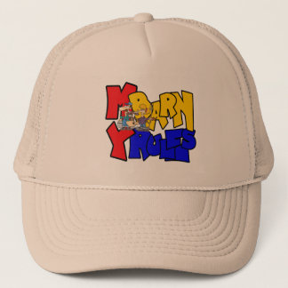 My Barn My Rules Cow Trucker Hat