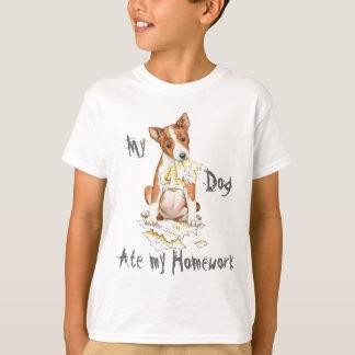 My Basenji Ate My Homework T-Shirt