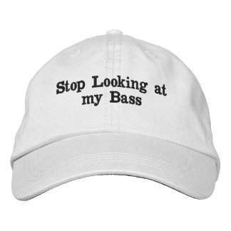 """""""My Bass"""" Embroidered Hat"""