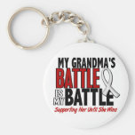 My Battle Too 1 Grandma BONE / LUNG CANCER Keychains