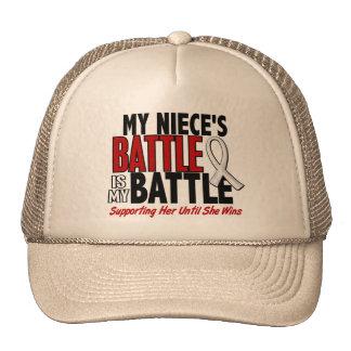 My Battle Too 1 Niece BONE / LUNG CANCER Cap