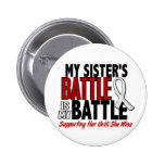 My Battle Too 1 Sister BONE / LUNG CANCER Pin