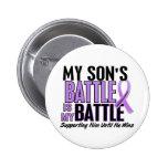 My Battle Too 1 Son Hodgkin's Lymphoma Pin