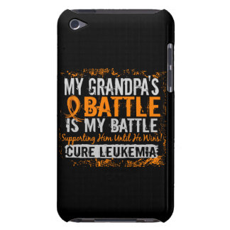 My Battle Too 2 Leukemia Grandpa Case-Mate iPod Touch Case