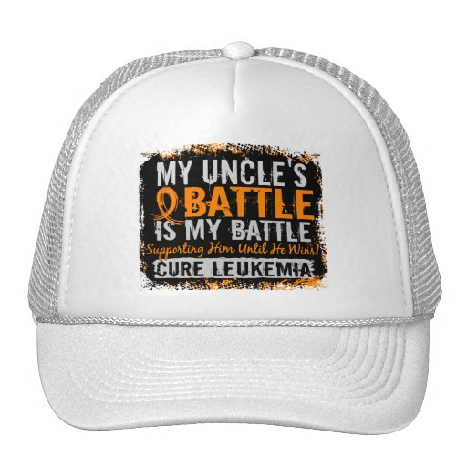 My Battle Too 2 Leukemia Uncle Mesh Hat
