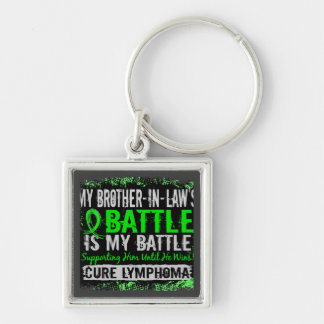 My Battle Too 2 Lymphoma Brother-In-Law Key Chain