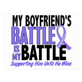 My Battle Too Boyfriend Esophageal Cancer Postcard