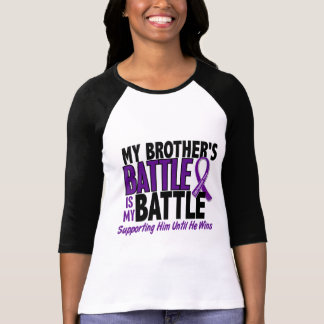 My Battle Too Brother Pancreatic Cancer T-Shirt