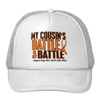My Battle Too Cousin Leukemia Mesh Hat