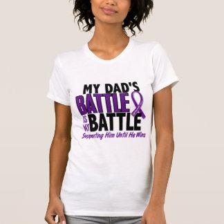 My Battle Too Dad Pancreatic Cancer Tee Shirt