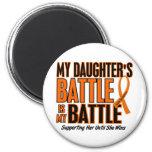 My Battle Too Daughter Leukaemia Fridge Magnet