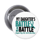 My Battle Too Daughter Ovarian Cancer Badge