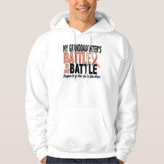 My Battle Too Granddaughter Uterine Cancer Sweatshirt