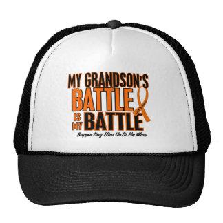 My Battle Too Grandson Leukemia Cap
