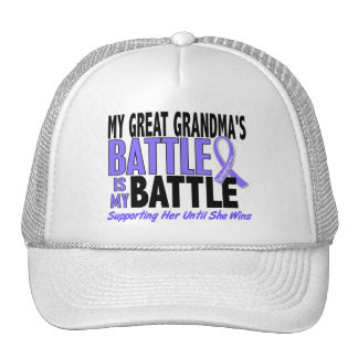 My Battle Too Great Grandma Esophageal Cancer Hats