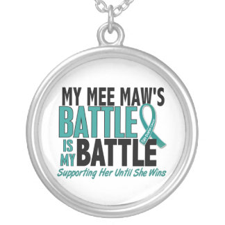 My Battle Too Mee Maw Ovarian Cancer Jewelry