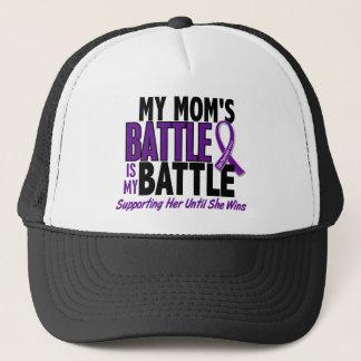 My Battle Too Mom Pancreatic Cancer Trucker Hat