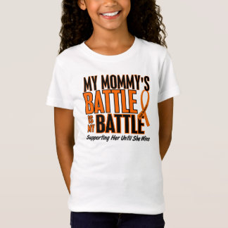 My Battle Too Mommy Leukemia T-Shirt