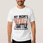 My Battle Too Mum Uterine Cancer Shirts
