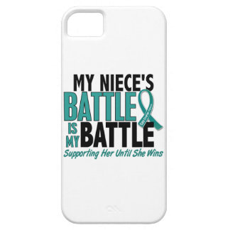 My Battle Too Niece Ovarian Cancer Barely There iPhone 5 Case