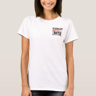 My Battle Too Sister-In-Law Uterine Cancer T-Shirt
