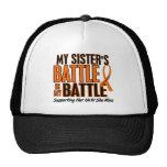 My Battle Too Sister Leukaemia Cap