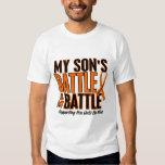 My Battle Too Son Leukaemia T Shirts