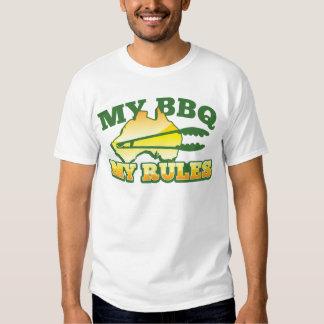 MY BBQ MY RULES aussie design Shirt