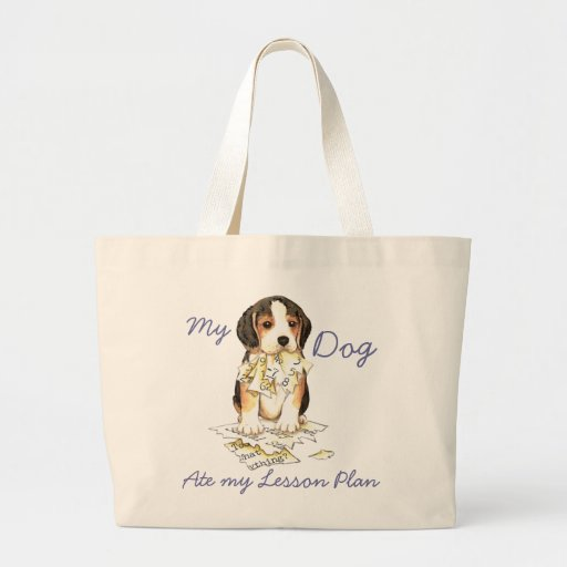 My Beagle Ate My Lesson Plan Bags