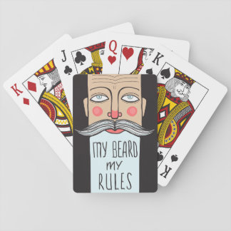 My Beard, My Rules Playing Cards