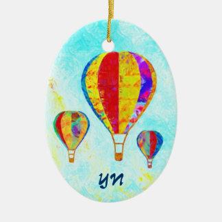 My Beautiful Balloons Ceramic Oval Decoration