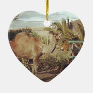 My beautiful camel christmas ornament