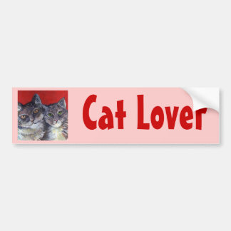 My Beautiful Tabby Cats Bumper Sticker