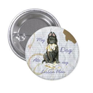 My Belgian Sheepdog Ate My Lesson Plan 3 Cm Round Badge