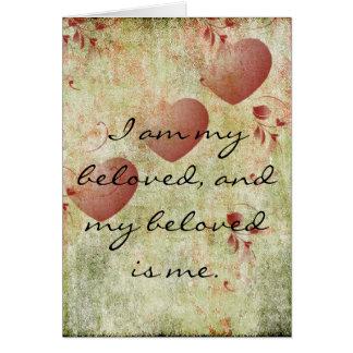 My Beloved Greeting Card