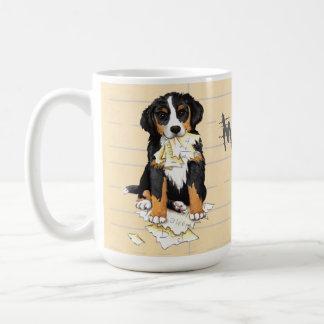 My Berner Ate My Homework Coffee Mug