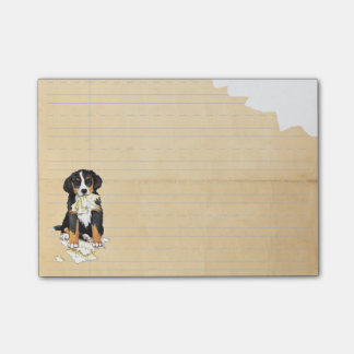 My Berner Ate my Homework Post-it® Notes