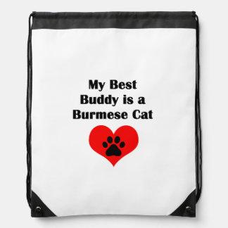 My Best Buddy is a Burmese Cat Rucksack