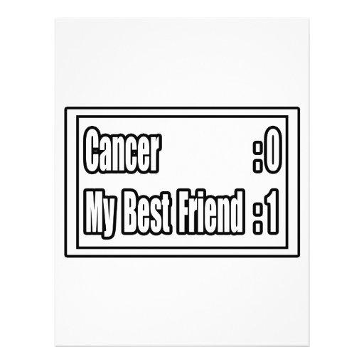 My Best Friend Beat Cancer (Scoreboard) Personalized Flyer